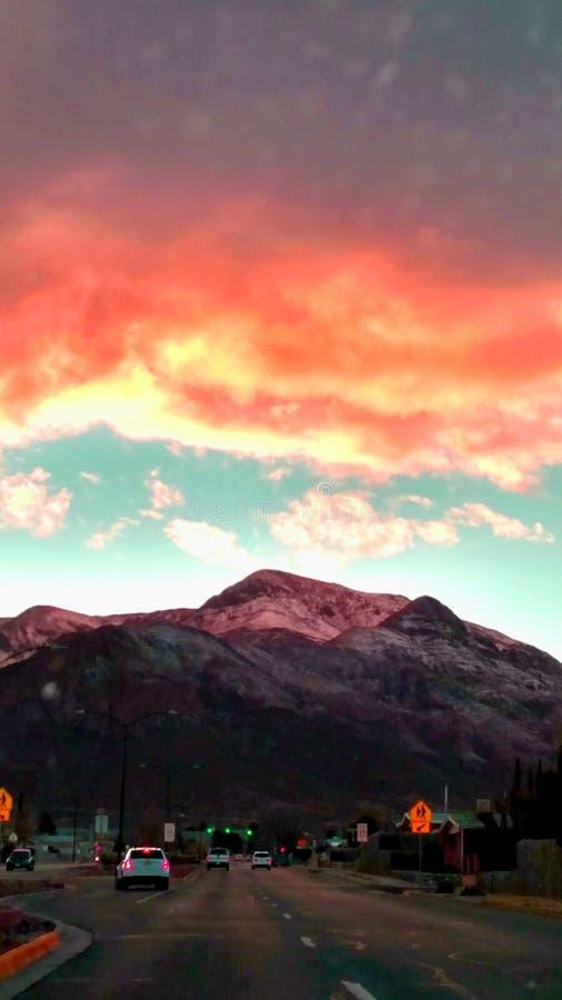 Bonne nuit El Paso images libres de droits