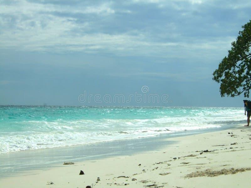 Bonne plage photo stock