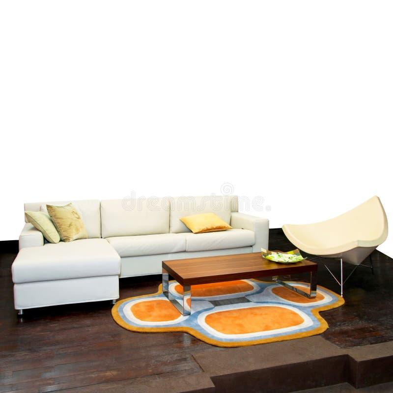 Bonne vue de sofa photos stock
