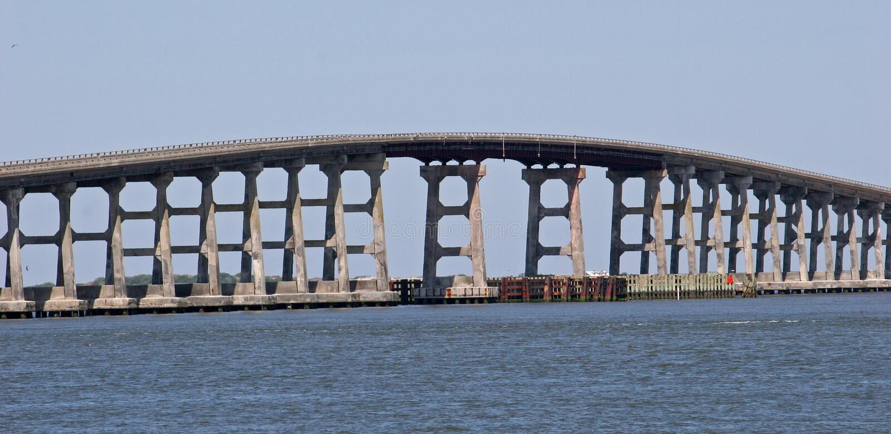 Bonner Bridge stock image