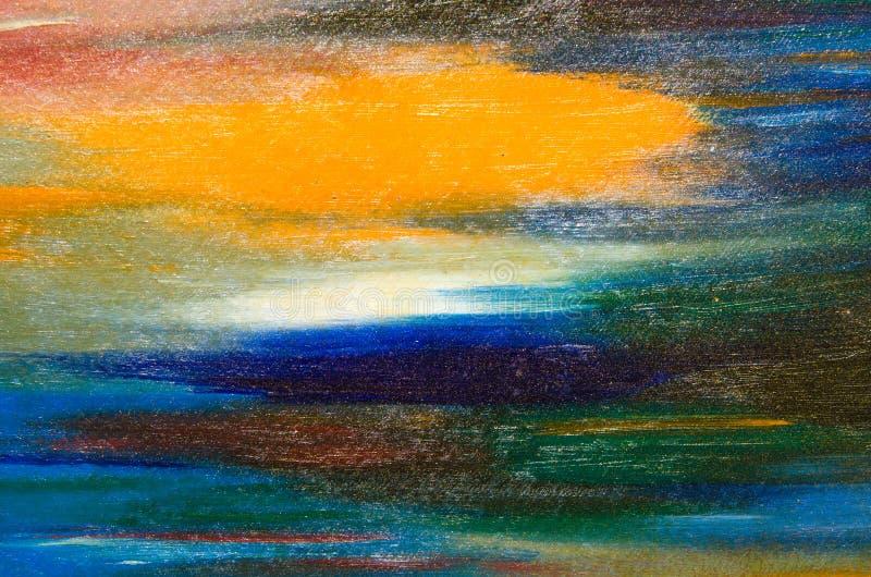 Bonnes calomnies d'aquarelle de couleur lumineuse image stock