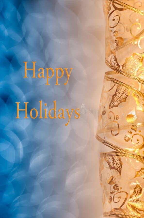 Bonnes fêtes carte images stock