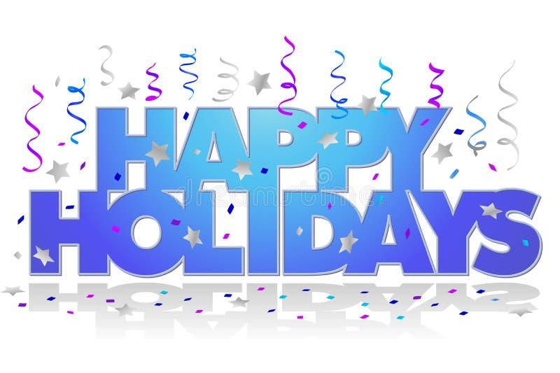 Bonnes fêtes/ENV illustration libre de droits