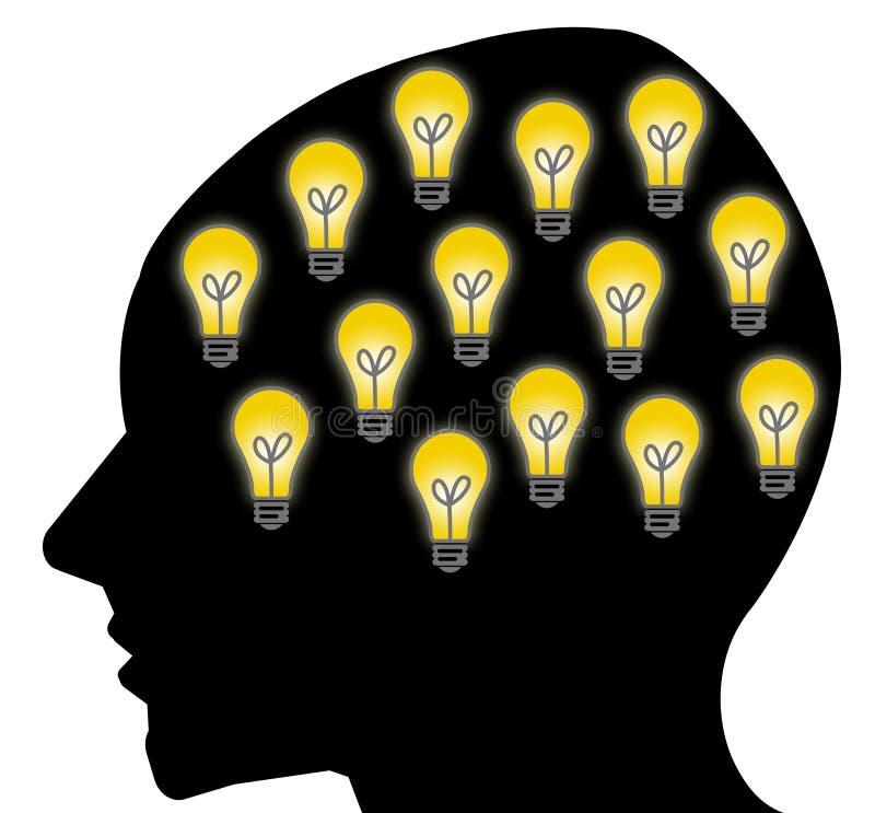 Bonnes idées illustration libre de droits
