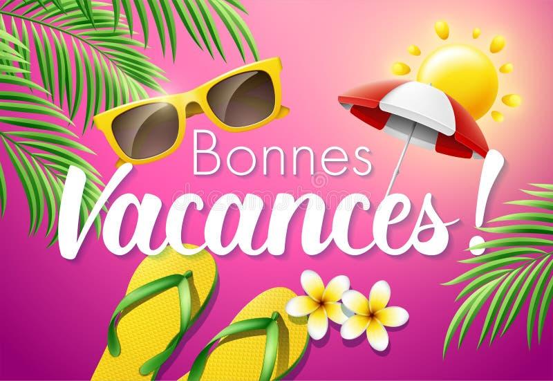 Bonnes Vacances Stock Illustrations – 9 Bonnes Vacances Stock Illustrations, Vectors & Clipart - Dreamstime