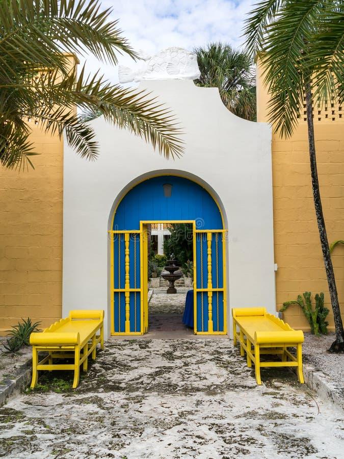 Bonnethuis, Voet Lauderdale, Florida stock foto