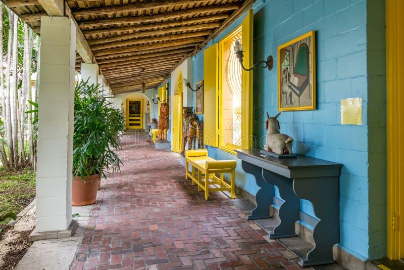Bonnethuis, Voet Lauderdale, Florida stock afbeeldingen