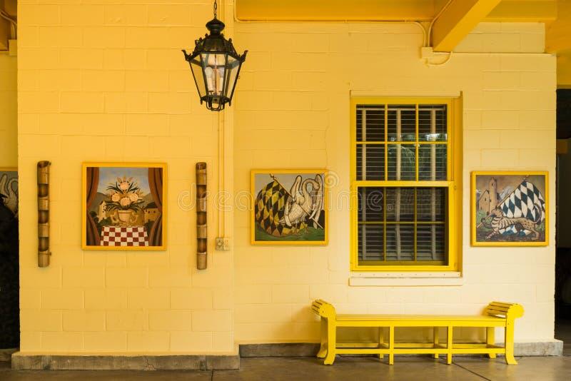 Bonnethuis, Voet Lauderdale, Florida stock afbeelding