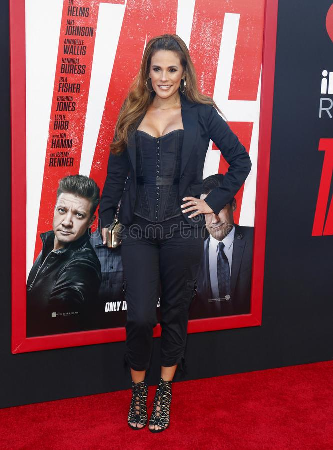 Bonnie-Jill Laflin. At the Los Angeles premiere of `Tag` held at the Regency Village Theatre in Westwood, USA on June 7, 2018 stock image
