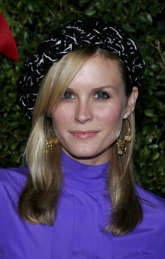 Bonnie Somerville stockfotos