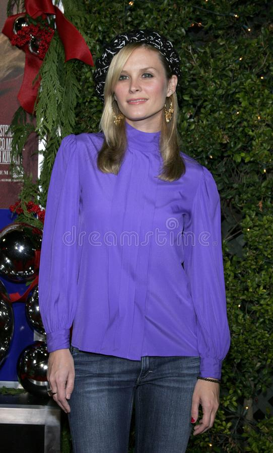 Bonnie Somerville. WESTWOOD, CALIFORNIA. November 14, 2005. Bonnie Somerville at the `Just Friends` Premiere at the Mann Village Theatre in Westwood, California stock photo