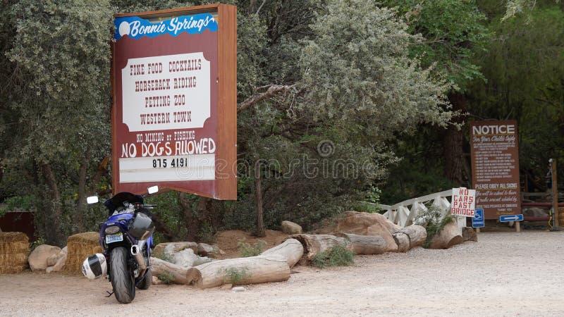 Bonnie Springs Ranch en Las Vegas, Nevada imagen de archivo libre de regalías