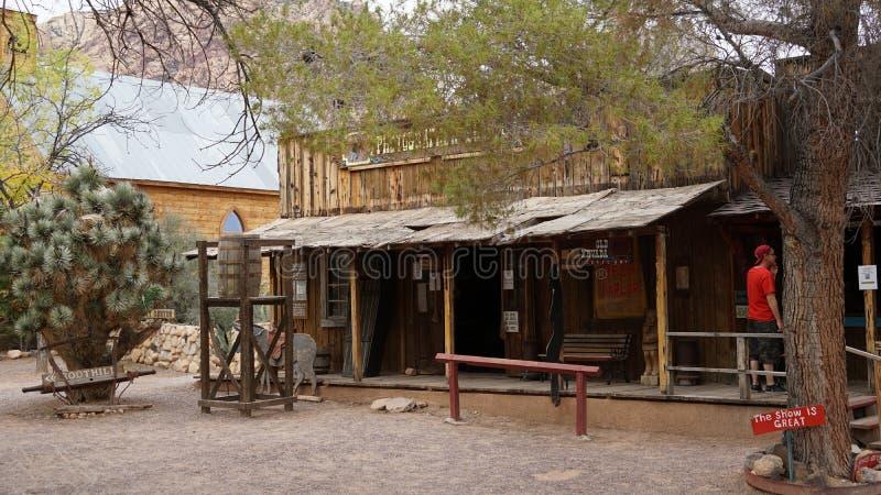 Bonnie Springs Ranch en Las Vegas, Nevada imagen de archivo