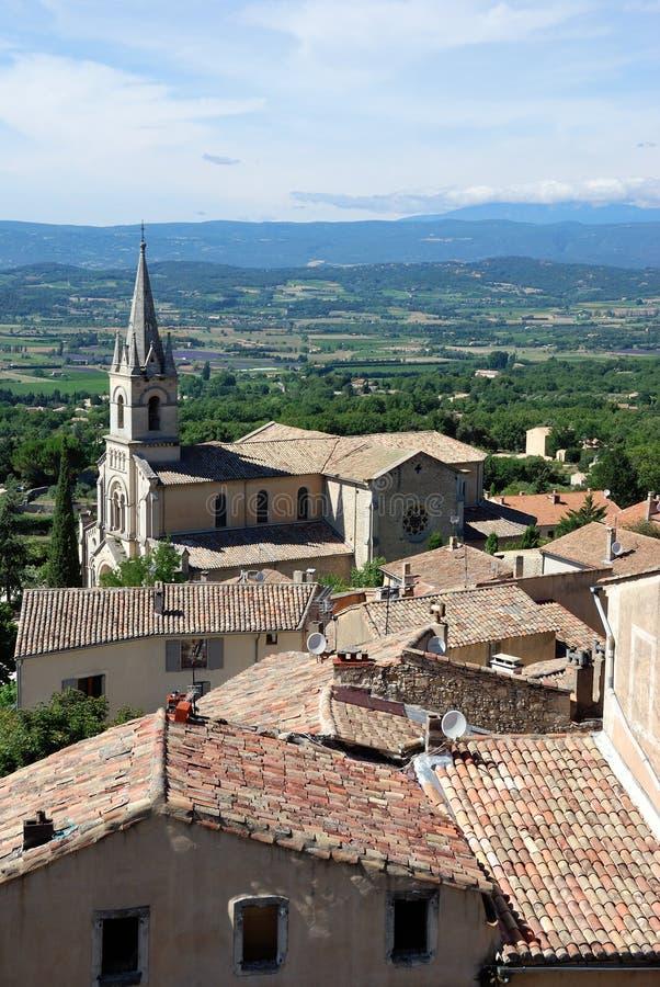 Bonnieux, Провансаль, Франция стоковое изображение rf