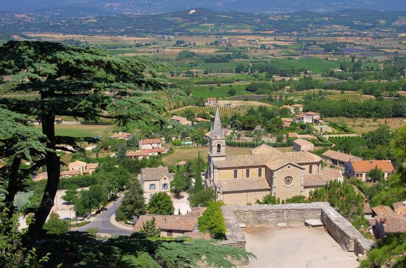 Download Bonnieux church stock photo. Image of church, luberon - 29270666
