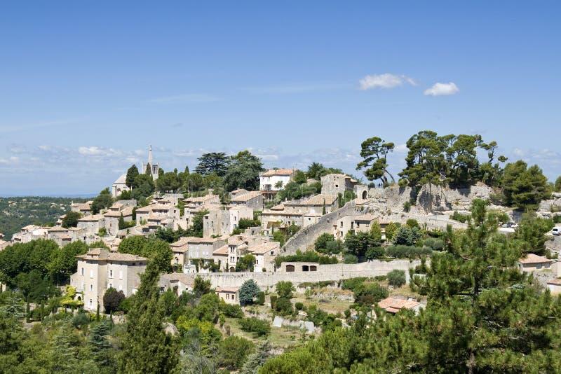 Bonnieux, französisches Dorf in Provence. stockfotos