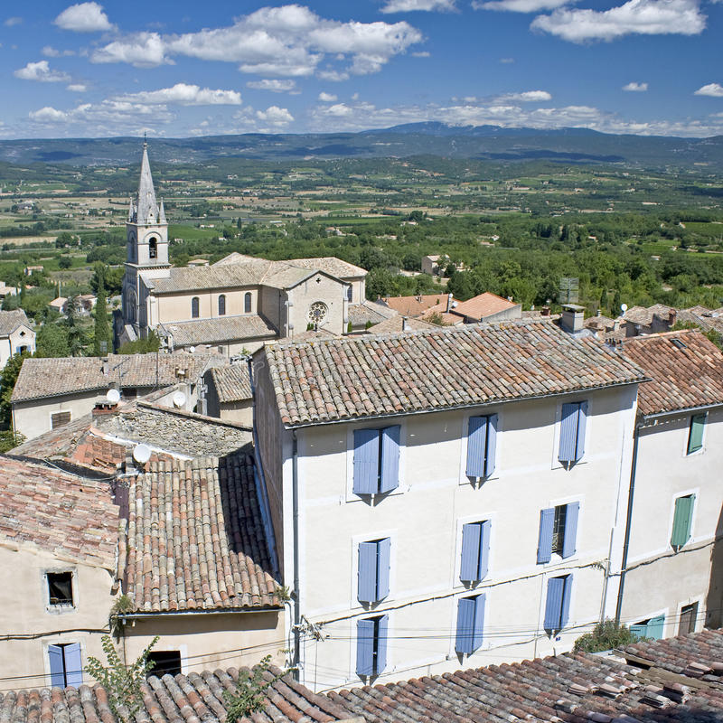 Download Bonnieux French Village In Provence. Stock Photo - Image: 21154658