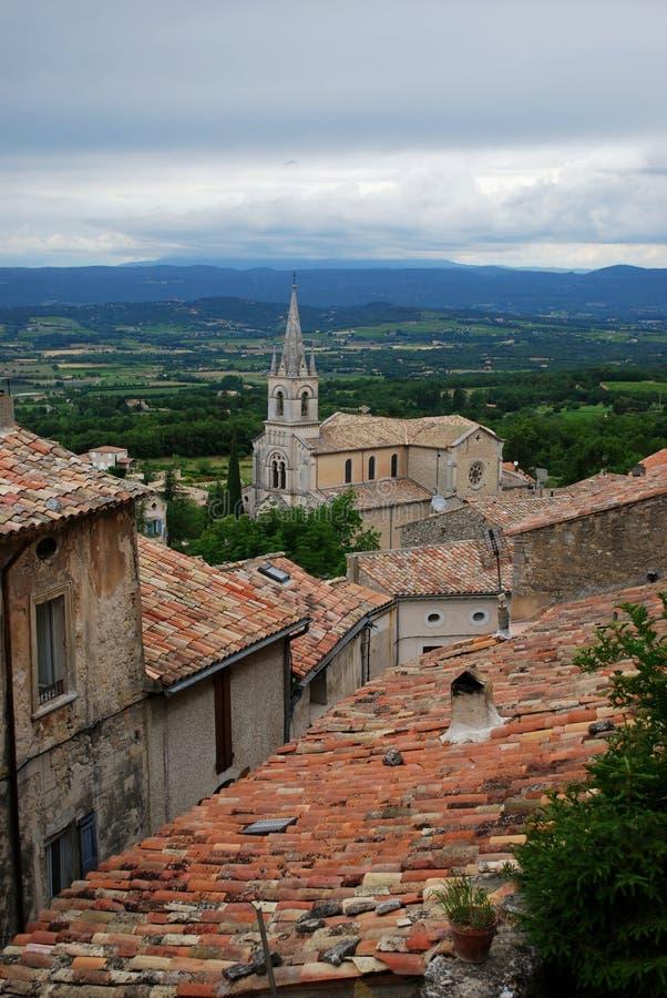 Bonnieux Village, France Royalty Free Stock Image