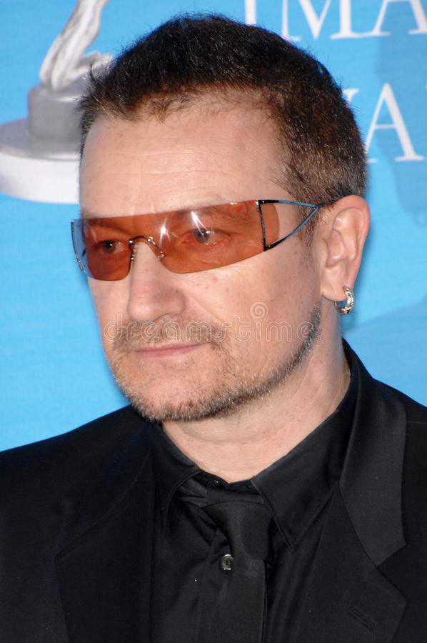 Bono royalty free stock image