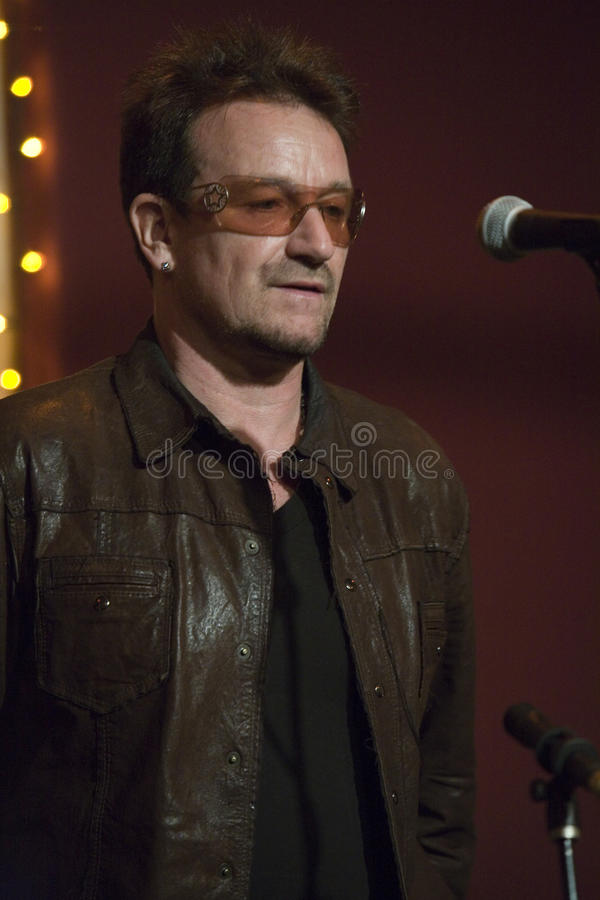 Bono royalty free stock photo