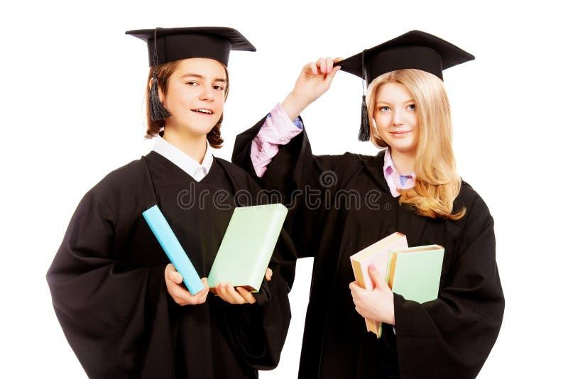 Bons estudantes imagens de stock