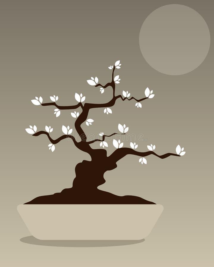 Bonsai stock illustratie