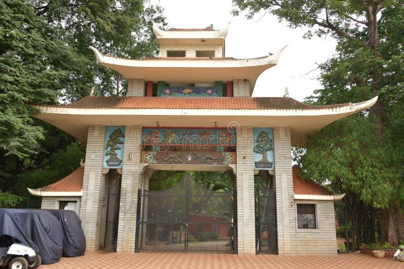 Bonsai gardens, Lalbagh Botanical Gardens, Bangalore, Karnataka. India stock photos