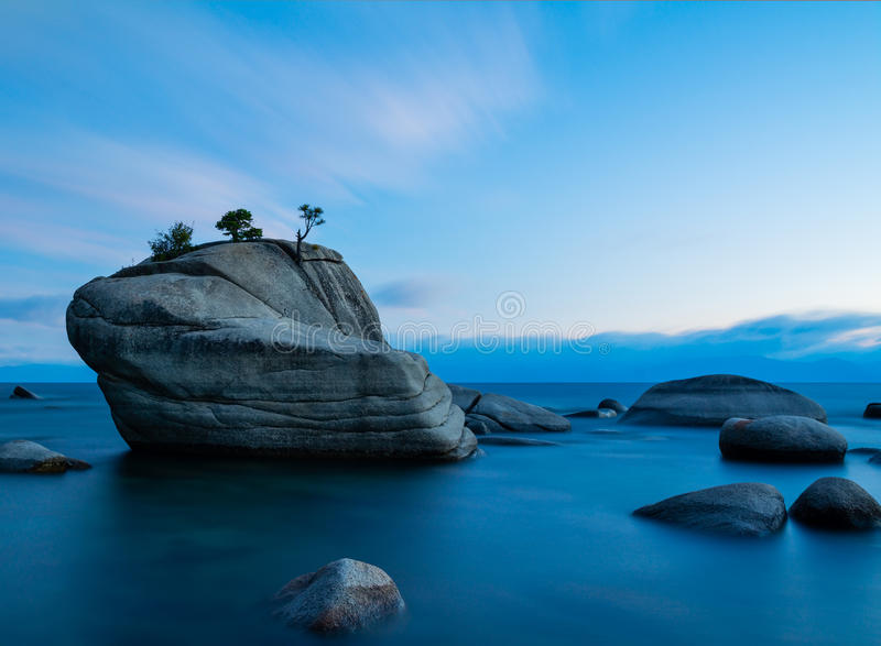 Bonsai Rock stock image