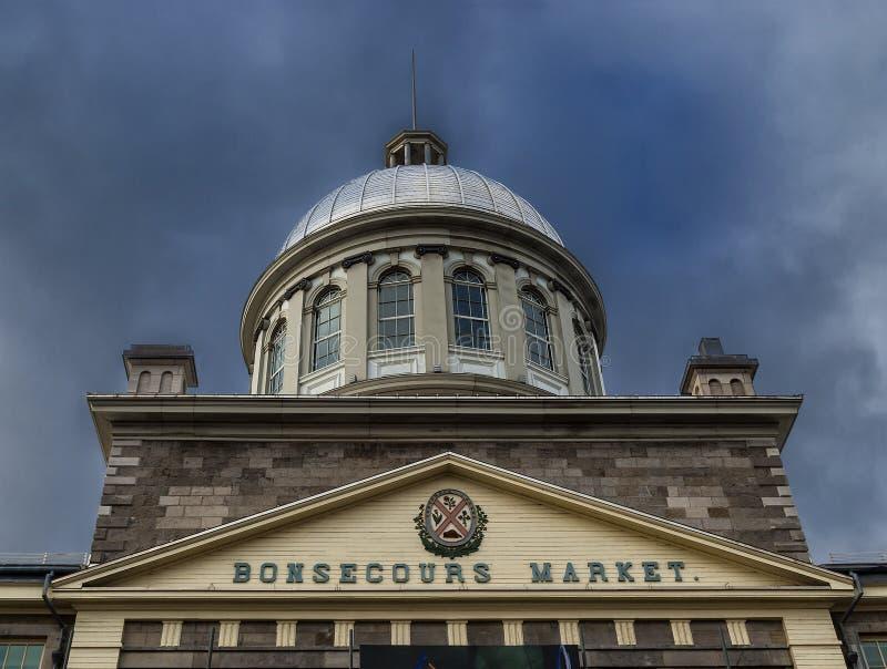 Bonsecours Market Editorial Photo