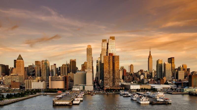 Bonsoir, New York images stock