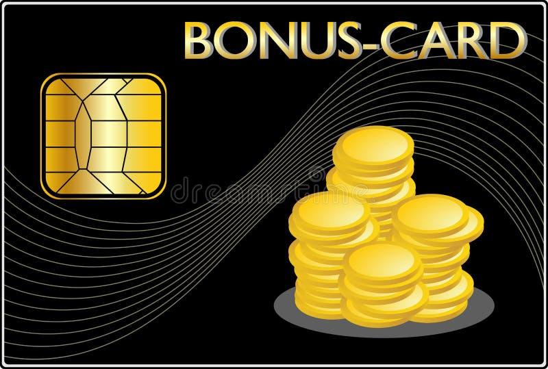 Download Bonus Card stock illustration. Image of business, commerce - 13771043