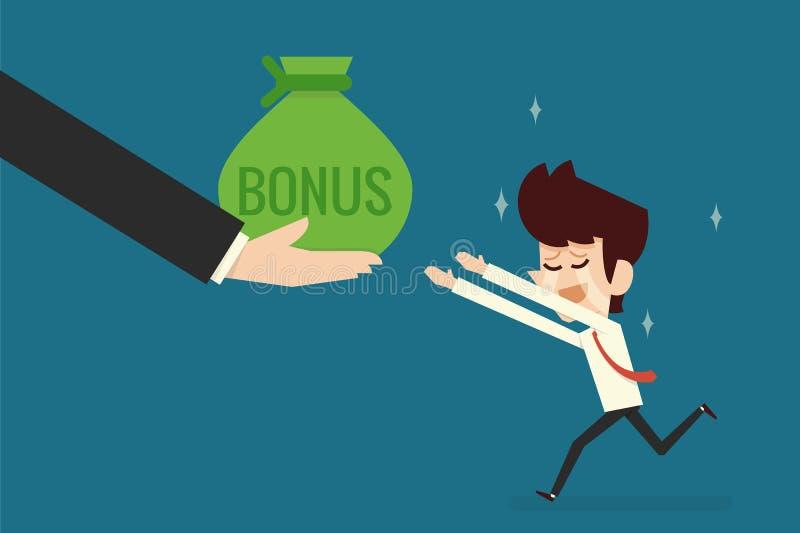 Bonus time vector illustration