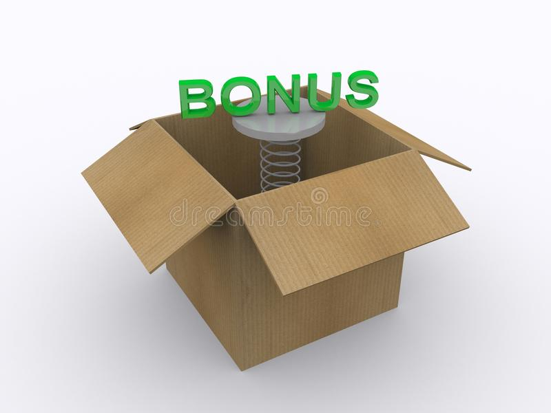 Download Bonus stock illustration. Image of label, jump, gain - 42223779