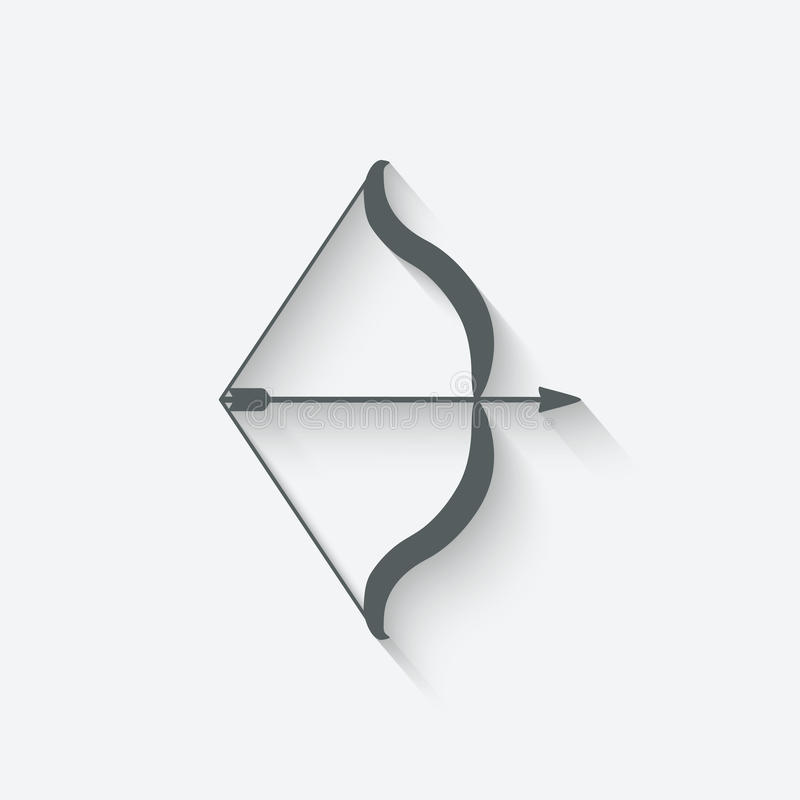Boog en Pijl vector illustratie