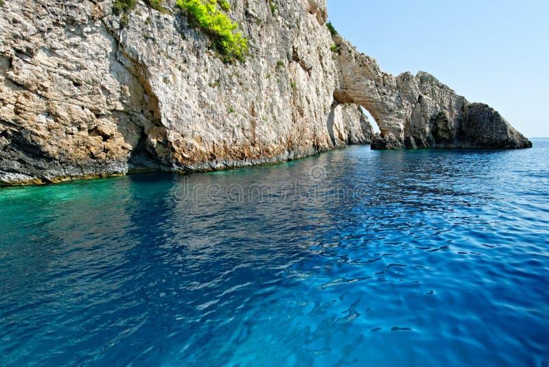 Boog op het eiland van Zakynthos royalty-vrije stock afbeeldingen