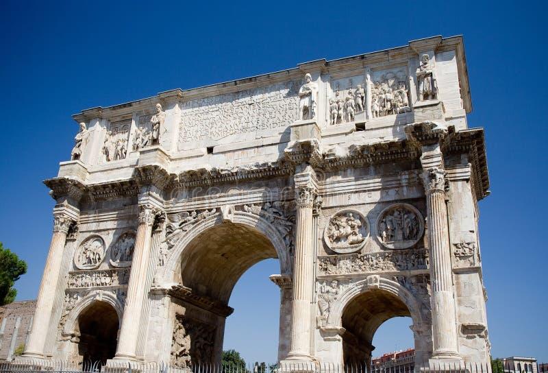 Boog van Constantine in Rome royalty-vrije stock fotografie