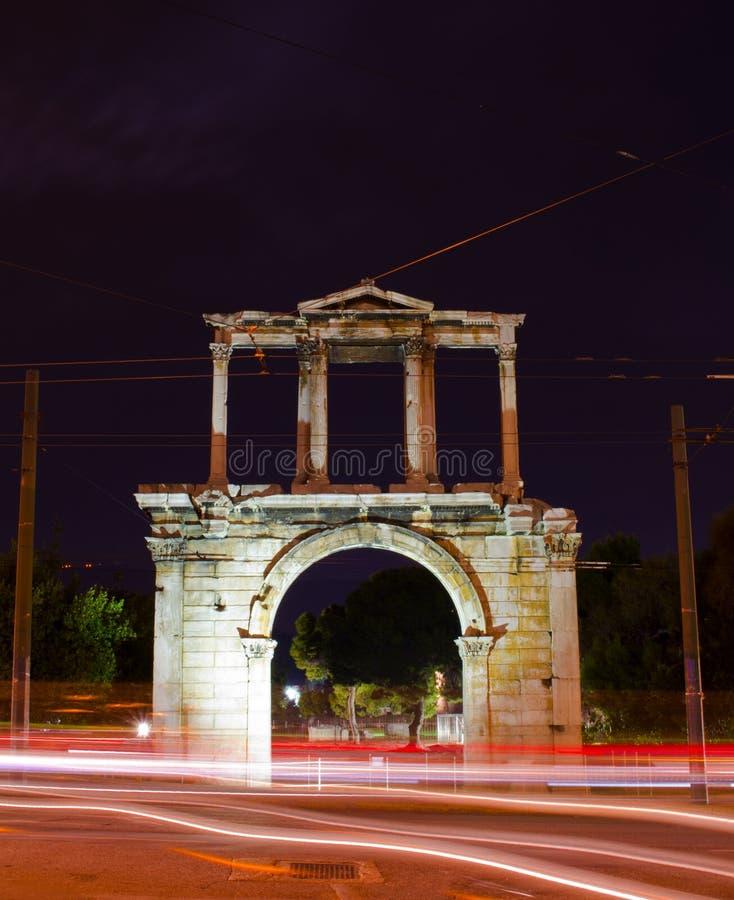 Boog van Hadrian royalty-vrije stock foto
