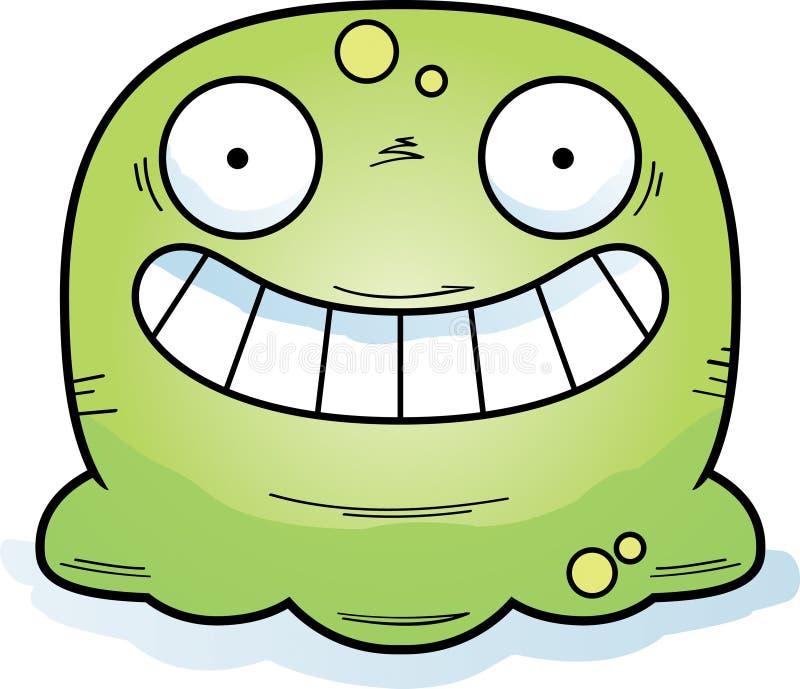 Booger pequeno feliz ilustração stock
