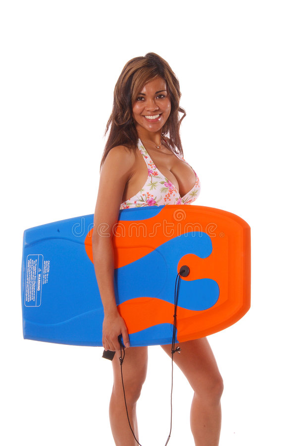 Download Boogie Board Babe 5 stock photo. Image of hair, attractive - 203956