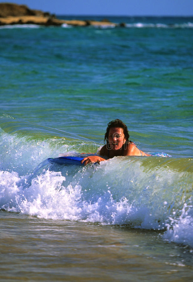 Download Boogie Boarding Royalty Free Stock Photos - Image: 12841748