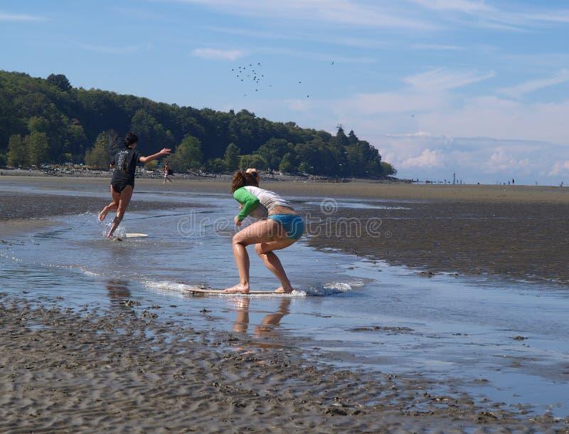 Download Boogie Boarding stock photo. Image of girls, bikini, board - 238176