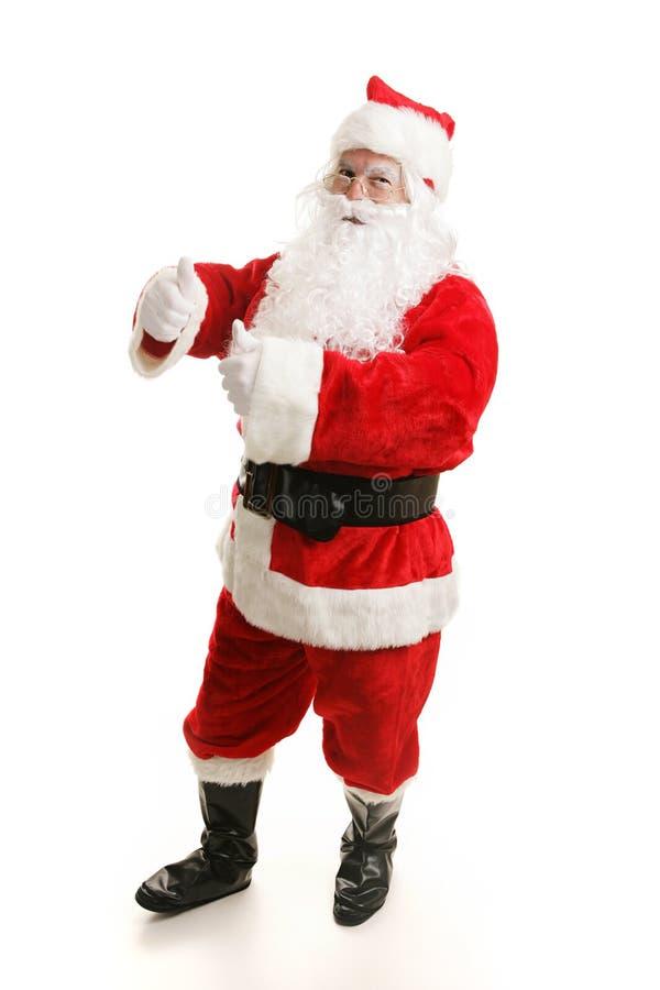 Boogie della Santa di Dancing immagini stock