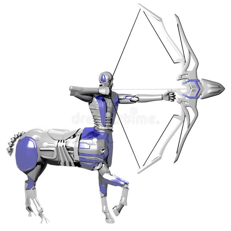 Boogschutterrobot royalty-vrije stock fotografie
