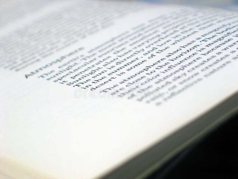 book öppet arkivbild