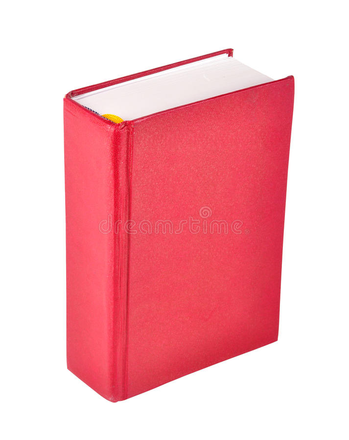 Book. On isolated background with clipping path