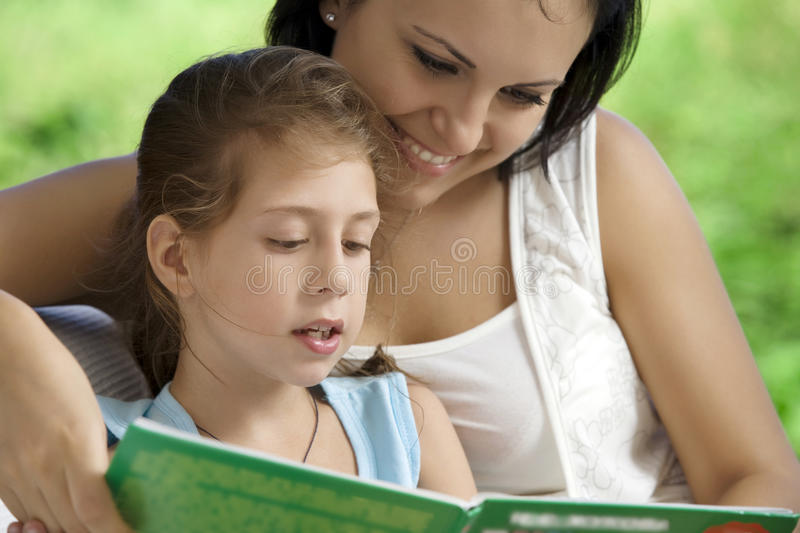 Download With book stock photo. Image of mama, childcare, carefree - 14085432