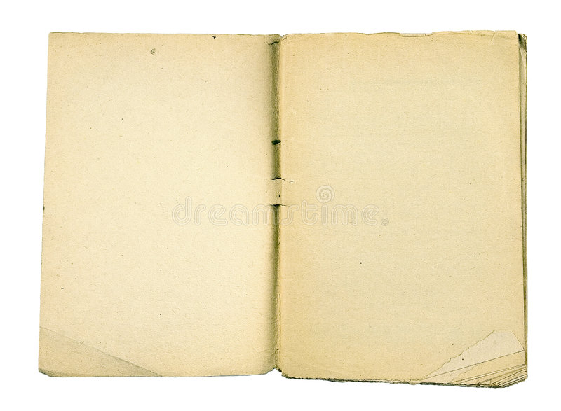 Book. The ancient book on a light background royalty free stock photography