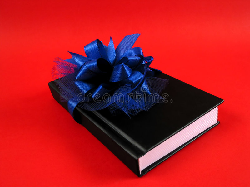 Book as a gift stock photography