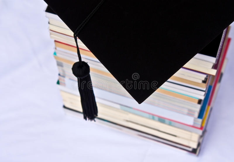 Book And Black Hood Stock Photography