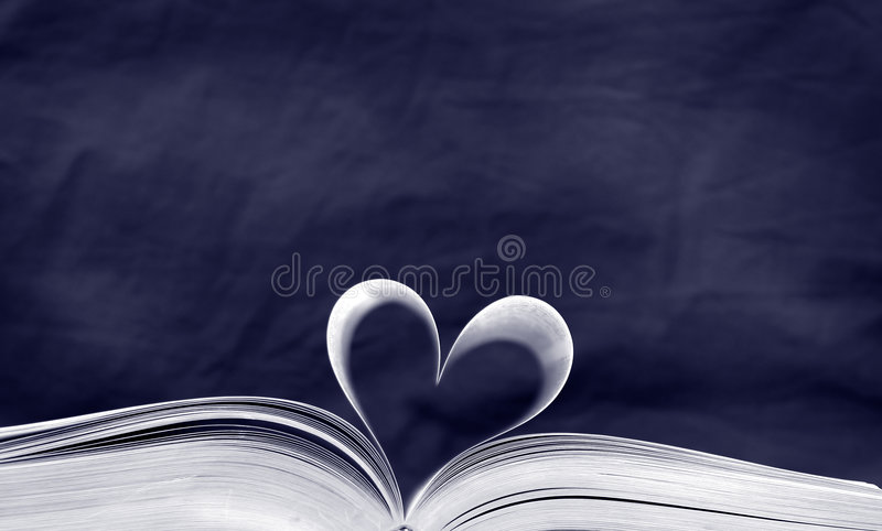 THe Book of Blues stock photo